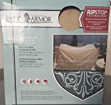 Patio Armor Ripstop Square Table and Chair Set Cover
