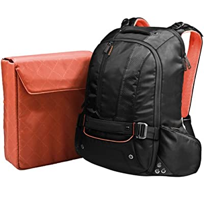 Everki Beacon Laptop Backpack With Gaming Console Sleeve Fits Up To 18-inch Ekp117nbkct by Everki