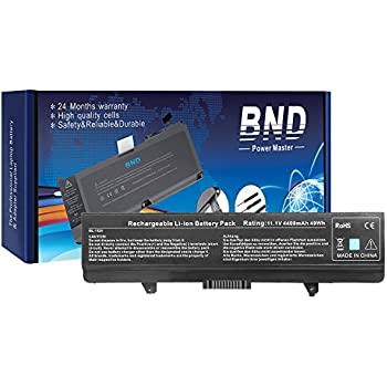 BND Battery for Dell Inspiron 1525 1526 1545 1546 PP29L PP41L Series Vostro 500, fits P/N X284G M911 M911G GW240 RN873 GP952 RU586 C601H 312-0844 - 12 ...
