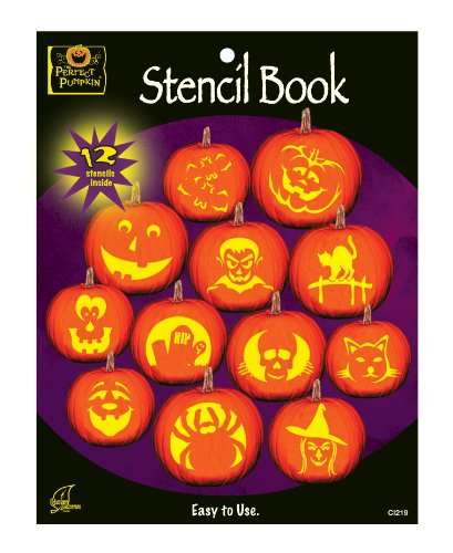 The Perfect Pumpkin Stencil Book]()