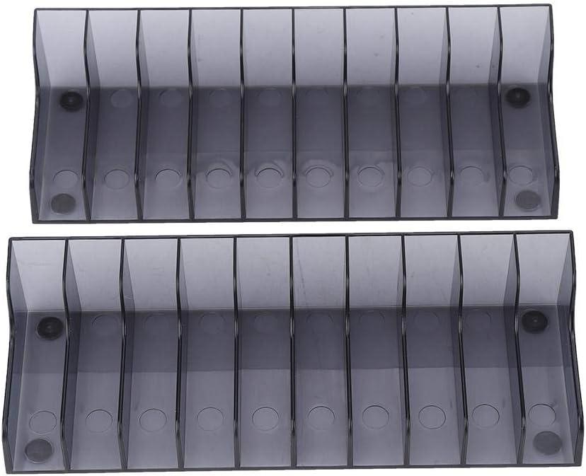 Lazmin 2 PCS Game Card Storage Stand, CD DVD Storage Rack Holder Mount Disk Stand Holder PS4/SLIM/PRO