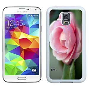 NEW Unique Custom Designed Samsung Galaxy S5 I9600 G900a G900v G900p G900t G900w Phone Case With Pink Camellia Htc One M8_White Phone Case