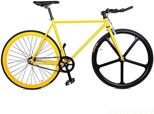 Mark8shop 20 Inch Urbana Fixie Pista Bicicleta Fija Gear 700 C Horquilla de Acero de Ropa: Amazon.es: Deportes y aire libre