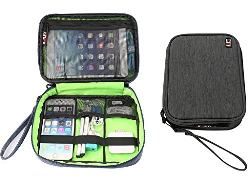 BUBM Nylon Waterproof Portable Electronics and Electronic Ac