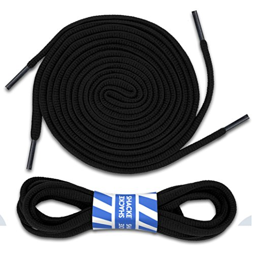 """Shacke 1/4"""" Oval Shoelaces for Athletic Shoes"""