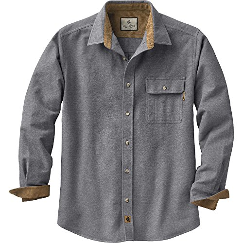Button Down Wool Skirt - Legendary Whitetails Buck Camp Flannels Charcoal Heather Large