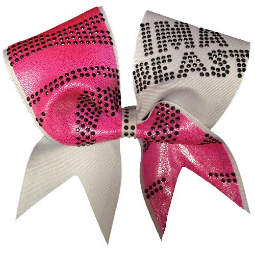 Chosen Bows I'MA Beast Zebra Cheer Bow