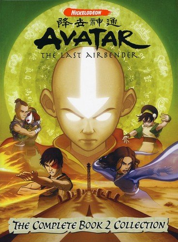 DVD : Avatar: The Last Airbender - The Complete Book Two Collection