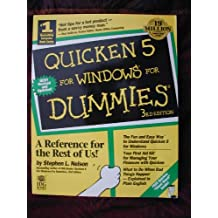 Quicken 5 for Windows for Dummies