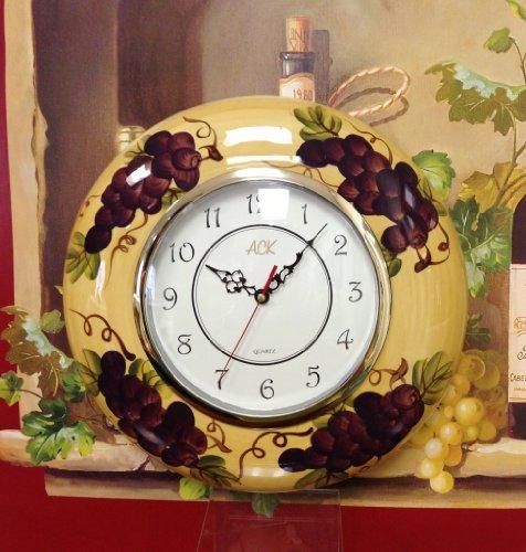 Grape Clock - 3