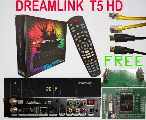 Dreamlink T5 HD FTA Satellite Receiever by Link Dream (Best Fta Satellite Receiver)
