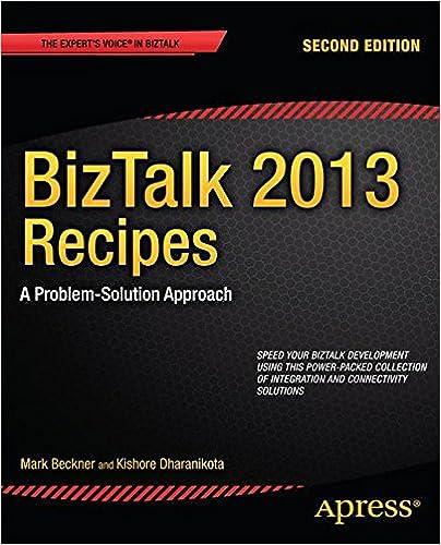 Experts Voice in BizTalk - Beckner M., Dharanikota K. - BizTalk 2013 Recipes. A Problem-Solution Approach [2013, PDF, ENG]