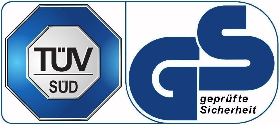 Best for Sports Trampolin mit T/üv Intertek und GS Zertifikat 4 Gr/ö/ßen zur Auswahl 244 305 366 430 cm mit Sicherheitsnetz Leiter Regenabdeckung Anker-Kit bis 180 kg