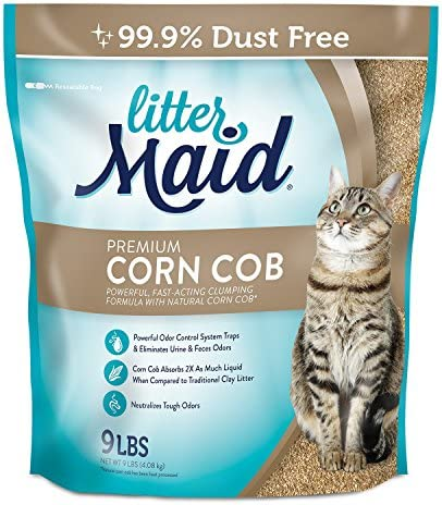 LitterMaid Premium Clumping Litter 9 Pound product image