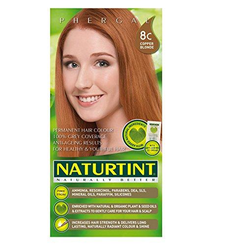 (Naturtint Permanent Hair Colors 8C Copper Blonde)