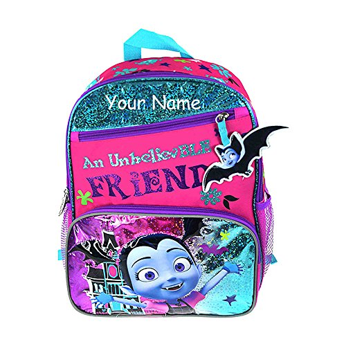 Personalized Disney Junior Vampirina An Unbelievable Friend Glittered