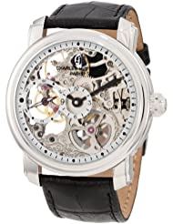Charles-Hubert, Paris Mens 3874 Premium Collection Stainless Steel Mechanical Watch