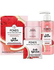 POND'S Cuidado Facial Hydra Fresh Sandía Mascarilla 26g + Gel hidratante 110g + Limpiador Facial 200ml