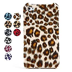 Stylish Leopard High Quality Back Case For iPhone 4, 4S --- COLOR:Beige