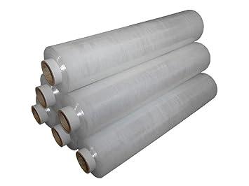 Black Pallet Stretch Shrink Wrap Non-Extended 400 mm x 200 m x 20 mu x 1 Roll