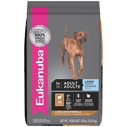 EUKANUBA Adult Large Breed Lamb and Rice Formula Dog Food 30 Pounds Large Breed Formula