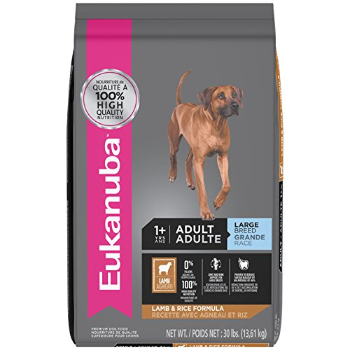 EUKANUBA Adult Large Breed Lamb and Rice Formula Dog Food 30 Pounds (Breed Adult Lamb)
