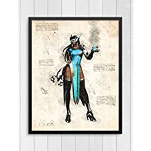 Overwatch print, Symmetra print, Overwatch poster, Symmetra poster, game poster, Blizzard N.049 (8 x 10 inch)