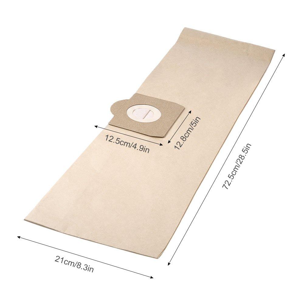 8 Bolsas de Filtros de Doble Capa para Aspiradora Kärcher WD 3, Compatible con Aspiradoras Kärcher WD 3 (Modelos WD 3, WD 3 P y WD 3 Premium) Pack ...