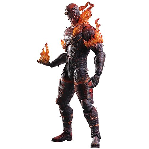 Metal Gear Solid V The Phantom Pain The Man on Fire Play Arts Kai Action Figure