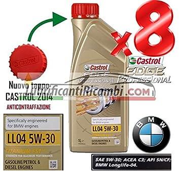 Castrol EDGE Aceite de motor 5 W30 Fst - 8 Litros - OFERTA: Amazon.es: Coche y moto