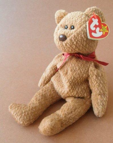 - TY Beanie Babies Curly Bear Plush Toy Stuffed Animal