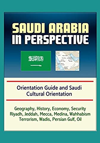 Saudi Arabia in Perspective - Orientation Guide and Saudi Cultural Orientation: Geography, History, Economy, Security, Riyadh, Jeddah, Mecca, Medina, Wahhabism, Terrorism, Wadis, Persian Gulf, (Cultural Defense)