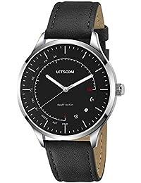 LETSCOM Smart Watch - Analog Quartz Watch and Activity...
