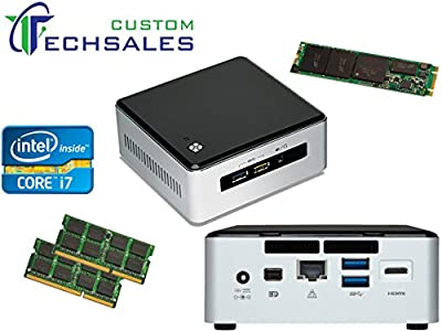 Intel NUC NUC5I7RYH Mini PC i7-5557U, 256GB M.2 SSD 16GB RAM Assembled and Tested