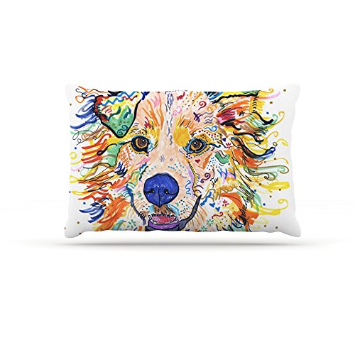 Kess InHouse Rebecca Fischer Jess  Fleece Dog Bed, 50 by 60 , Multicolor