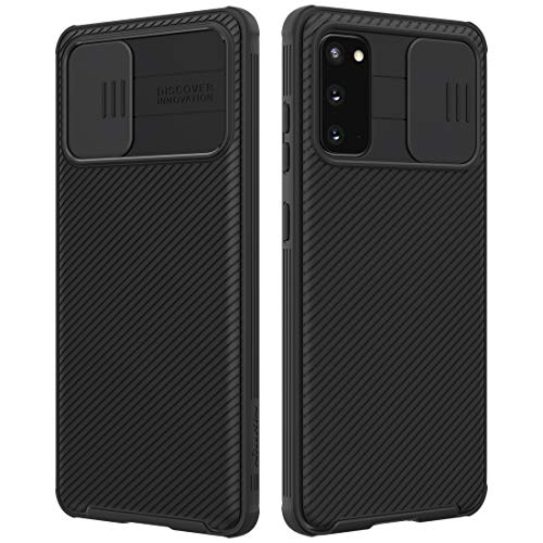 Nillkin Samsung Galaxy S20 / S20 5G Case, CamShield Pro Series Case with Slide Camera Cover, Slim Stylish Protective case for Samsung Galaxy S20 / S20 5G - Black
