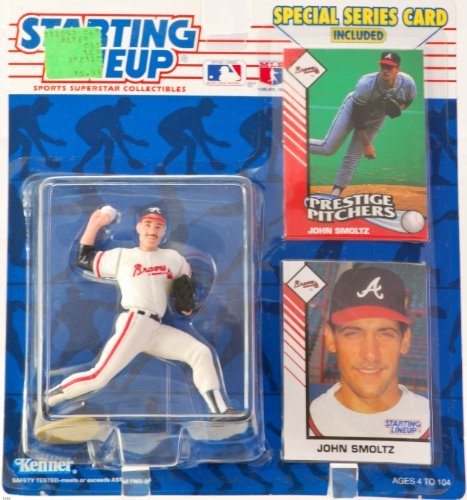 1993 John Smoltz MLB Starting Lineup Figure