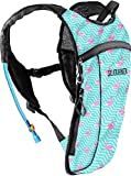 Cheap Sojourner Rave Hydration Pack Backpack – 2L Water Bladder Included for Festivals, Raves, Hiking, Biking, Climbing, Running and More (Small) (Flamingo)