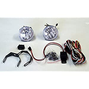 Genuine BlingLights 3 Inch Round Xtra 35w = 70w Fog Light Driving Lamp Kit (Non-Halo Version)