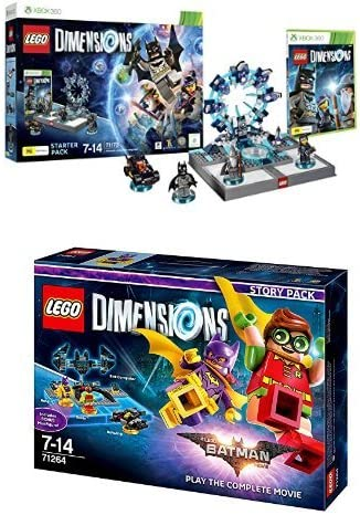LEGO - Starter Pack Dimensions (Xbox 360) + LEGO Dimensions Story Pack: Batman Movie: Amazon.es: Videojuegos