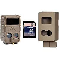 NEW CUDDEBACK E3 No Glow Infrared 20MP Micro Trail Game Camera w/ Case & SD Card
