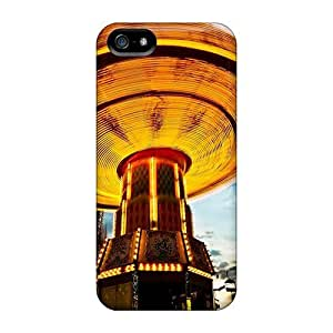 BQUrfsf6904trYSm Case Cover, Fashionable Iphone 5/5s Case - Fantastic Amusement Park Ride In Motion