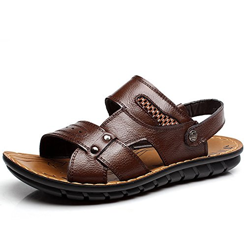 SU@DA Sandales/chaussons/2016 nouveau double-usage/été/plage chaussures été / , brown , 44