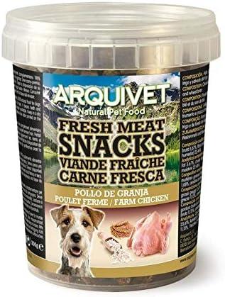 Arquivet Snacks carne fresca pollo de granja 300g