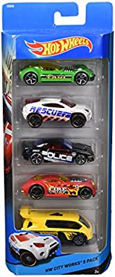 Hot Wheels City Works 5 Pack by: Amazon.es: Juguetes y juegos