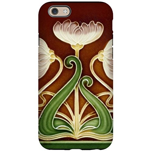 CafePress - Art Nouveau Majolica Tile 1905 iPhone 6 Tough Case - iPhone 6/6s Phone Case, Tough Phone Shell