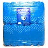 XtraLargo Disposable Boot & Shoe Covers - Extra Large, Non-Skid Tread, Splash Resistant. Fits Shoe Sizes 6 to 13. Durable For Longer Use and More Savings. Vibrant Blue. 20% More Than Usual Packaging - 120 Pieces (60 Pairs)