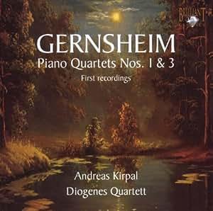 Gernsheim: Quatuors Pour Piano No. 1