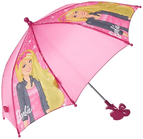 Umbrella - Barbie - Clamshell Handle Kids/Girls Gifts Toys New 101425