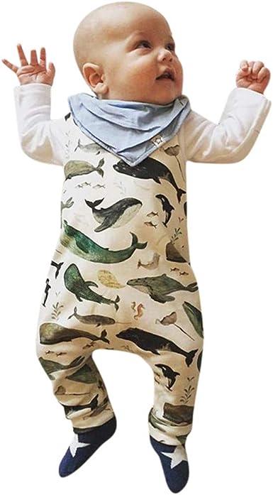 Divertido Pijama, K-Youth Bodies para Niños Mono de Bebés Sin Mangas Pelele Bebe Niño Verano Ropa Bebe Recien Nacido Niño Mameluco Bebe Niña Body Bebé Niñas Ropa de mormir Unisex: Amazon.es: Ropa